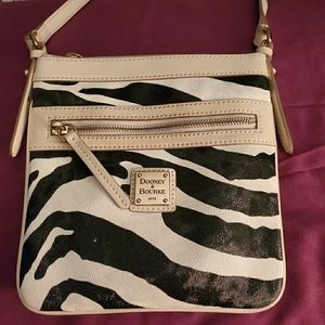 Dooney & Bourke zebra crossbody
